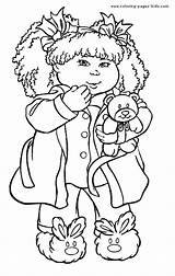 Cabbage Patch Coloring Pages Cartoon Sheets Colouring Printable Doll Character Adults Easy Drawings Printables Kid Dolls Colour Stuff Popular Books sketch template