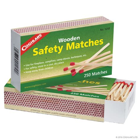 coghlans  wooden safety matches