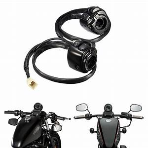 Motorcycle 1 U0026quot  25mm Handlebar Turn Signal Control Switch