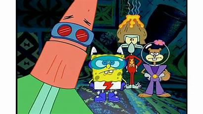 Spongebob Mermaidman Patrick Cartoon Barnacleboy Superheroes Episode