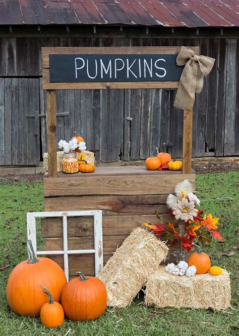 fall pumpkin decorations outside 21 fall pumpkin stands for outdoor and indoor d 233 cor digsdigs