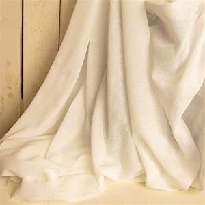 White Cotton Fabric By The Yard Tobacco Cloth Cream White