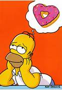 thumbs homer simpson donuts 34