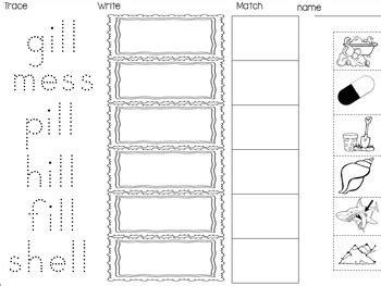 Double Final Consonants Ff, Ss, Ll, Zz, 5 Interactive Activities