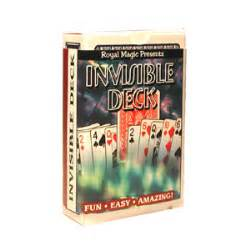 invisible deck by royal magic trick theory history