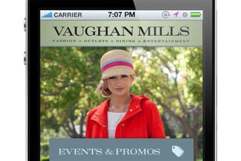 Vaughan Mills Launches New Shopping App, 'vaughancierge