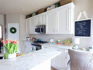 17 kreative vorher nachher kuchenumbauten With kitchen colors with white cabinets with papier entete