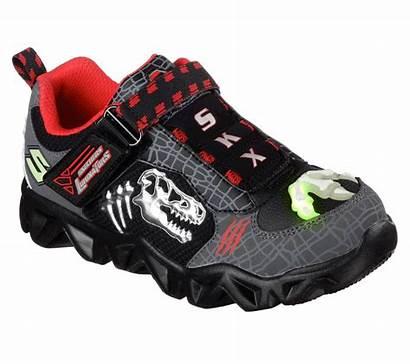 Lights Skechers Extinct Shoes Ccbk