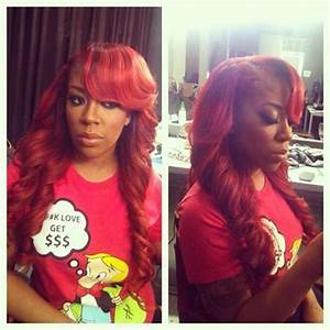 K Michelle With Red Hair Photo K Michelle I Gets Her