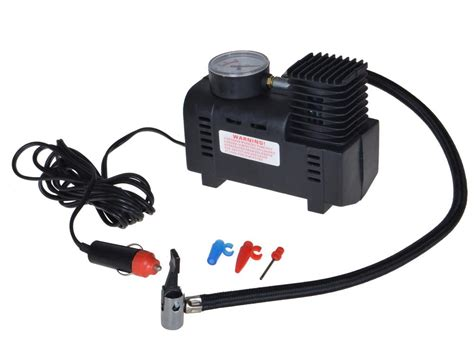 250 Psi 12v Car Auto Portable Pump Tire Inflator Mini