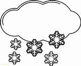 Snow Coloring Cloud Winter Strife Getcolorings Printable Snowman Getdrawings sketch template