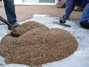 pebble epoxy flooring calgary pebble floor epoxy gurus floor
