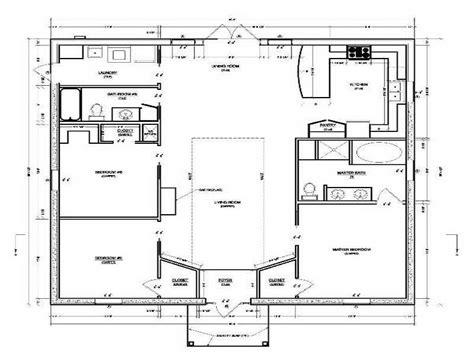 Cmu Housing Floor Plans by Concrete Block House Plans Smalltowndjs