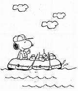 Snoopy Coloring Pages Printable Peanuts Peanut sketch template