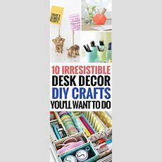 10 Einfache Und Günstige Diy Desk Decor Ideen Für