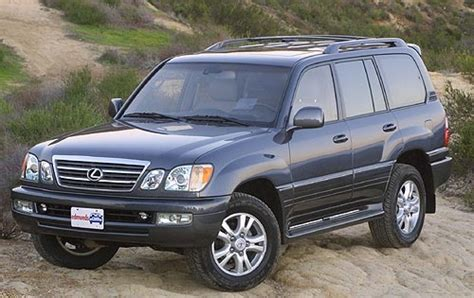 lexus suv 2003 used 2003 lexus lx 470 suv pricing features edmunds