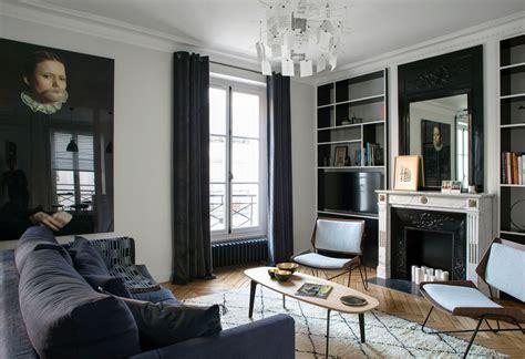 chambre style gustavien chambre mur gris