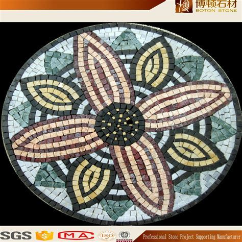 2017 Beautiful Water Jet Mosaic Marble Patterns Designs