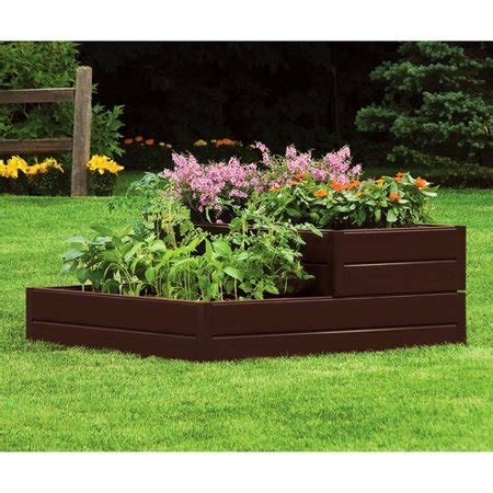 Suncast Rbd939 2 Tiered Raised Bed  Pack Of 1 Walmartcom
