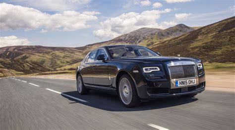 Rolls-Royce Ghost Named Best Super-Luxury Car - Just British