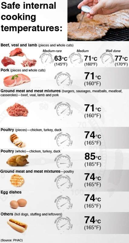 food internal celsius temp chart google search kitchen tips   meat cooking