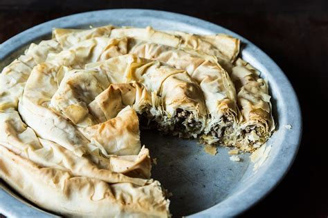 cuisine des balkans balkan and leek pie recipe on food52