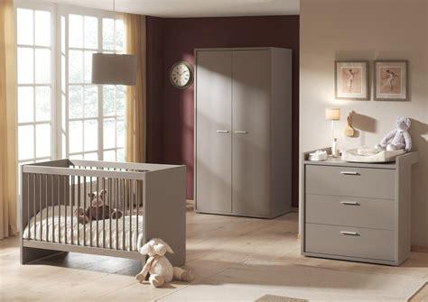 chambre bébé complete belgique chambre bébé complète contemporaine coloris basalte gris