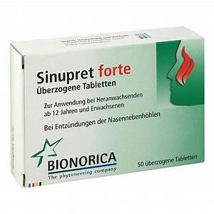 sinupret alternative