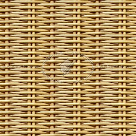 Yellow And Gray Chair by Rattan Texture Seamless 12518