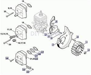 Stihl Bg 85 Parts Diagram