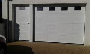 porte de garage sectionnelle manuelle ou motorisee With porte garage sectionnelle manuelle