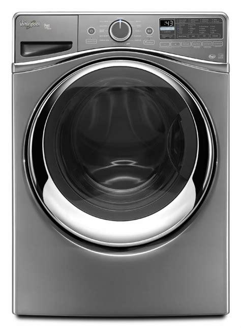 whirlpool chrome load shadow washer duet ft cu inch ajmadison