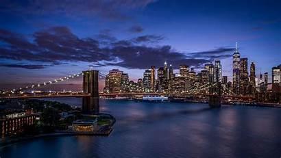 York Pantalla Fondos Brooklyn Bridge Wallpapers Sfondi