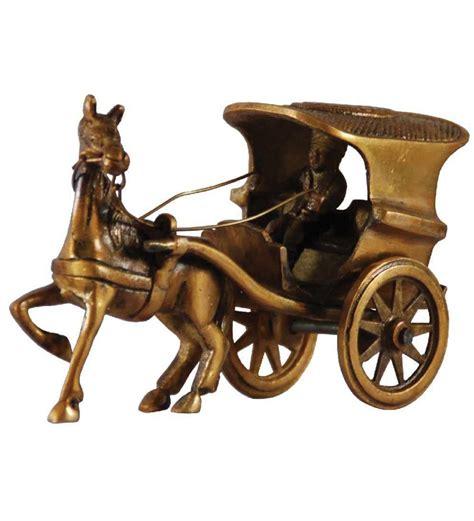 Buy Villcart Brass Ghoda Gadi Showpiece Online ...