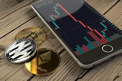 Coins Bitcoin Iphone Crypto Chart Candlestick Ethereum