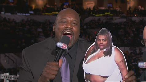 Shaquille Oneal Mocks San Antonios Women With Charles
