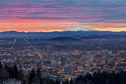 Portland Oregon Sunrise Wallpapers Desktop 4k 1080p