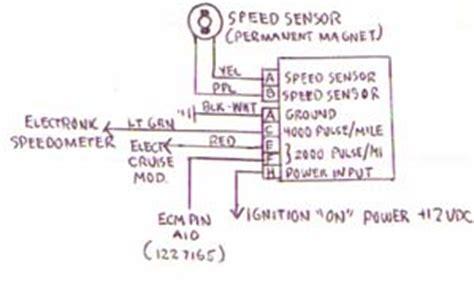Replaced Speed Sensor Still Speedo Third