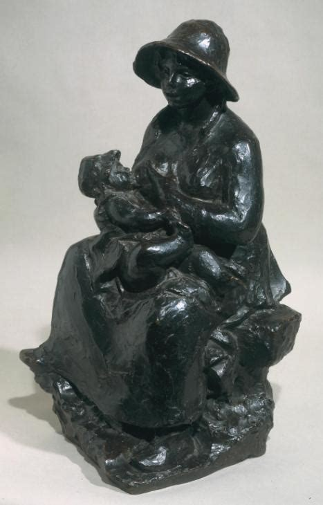 'mother And Child Auguste Renoir C1916 Cast 1927 Tate