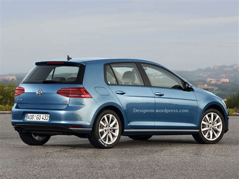 volkswagen golf vw golf facelift could debut at geneva before r420 variant
