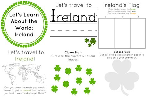 the of ireland let s learn about the 618 | ireland collage