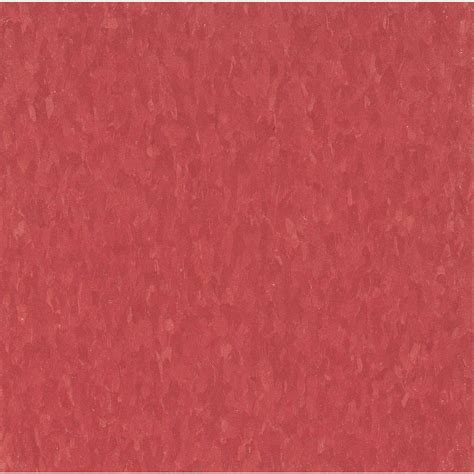 armstrong imperial texture vct 12 in x 12 in maraschino standard excelon commercial vinyl tile