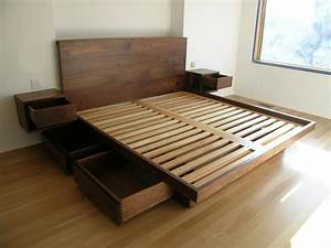 Platform Bed With Drawers Underneath Ideas Reference
