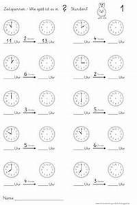Zeitspannen Berechnen 3 Klasse : blanko arbeitsblatt uhrzeiten lernen zifferblatt ~ Themetempest.com Abrechnung