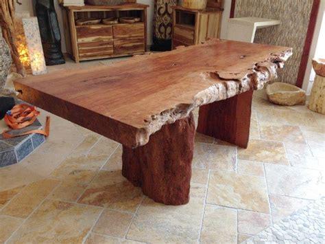 tisch aus baumscheibe tisch aus baumstamm wurzelholz forafrica