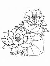 Lily Coloring Water Pages Flower Printable Monet Drawing Easter Lilies Flowers Energy Colouring Pad Renewable Getcolorings Calla Getdrawings Colors Recommended sketch template