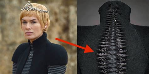 game  thrones cerseis black gown  twisted hidden