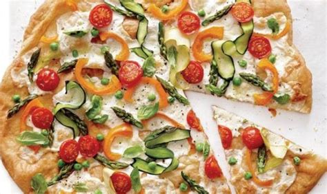 Recetë: Pizza primavera