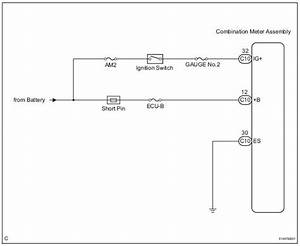 Toyota Sienna Service Manual  Entire Combination Meter Does Not Operate