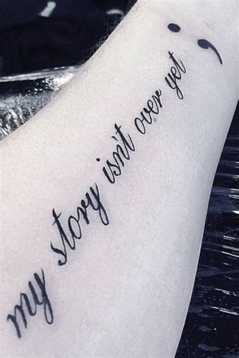 Why Semicolon Tattoos Are So Much More Than A Passing. Best Friend Quotes Girl. Single Quotes Vs Double Quotes In Ruby. Movie Quotes Nailed It. Voltaire Humor Quotes. Love Quotes Cover Photos. Tumblr Quotes God. Bible Quotes Youth Ministry. Disney Quotes In Spanish